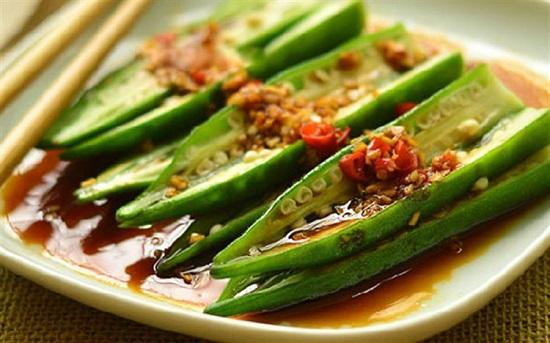 Đậu bắp được sử dụng để chế biến nhiều món ăn khác nhau