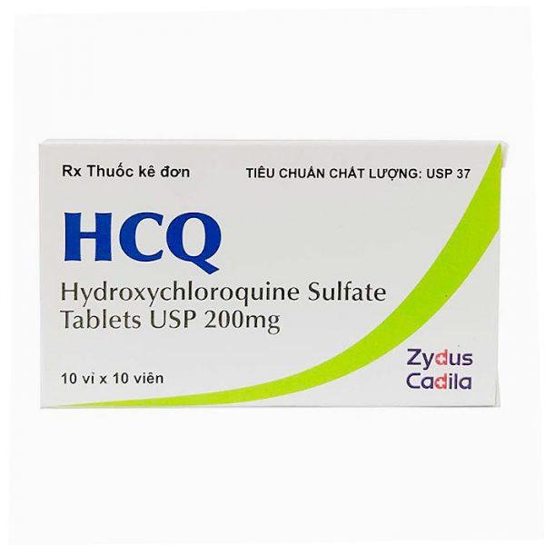 Thuốc điều trị sốt rét HCQ