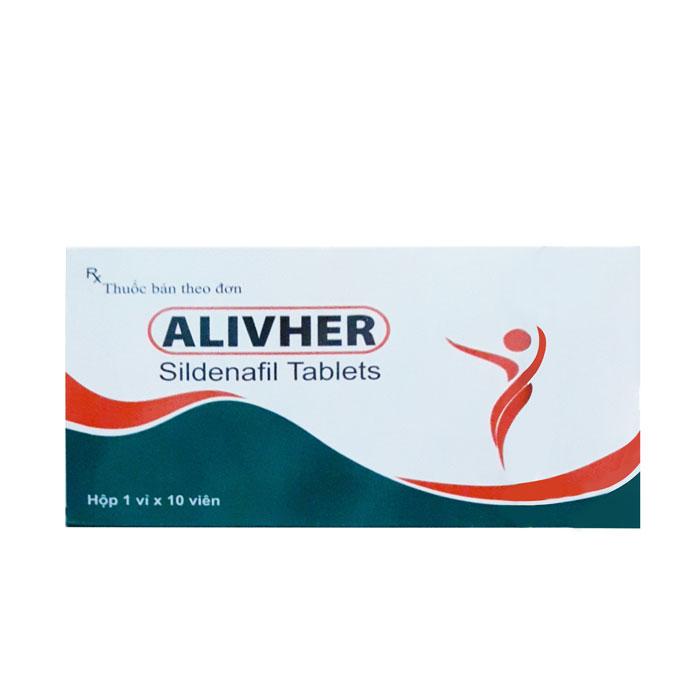 Thuốc cường dương Alivher