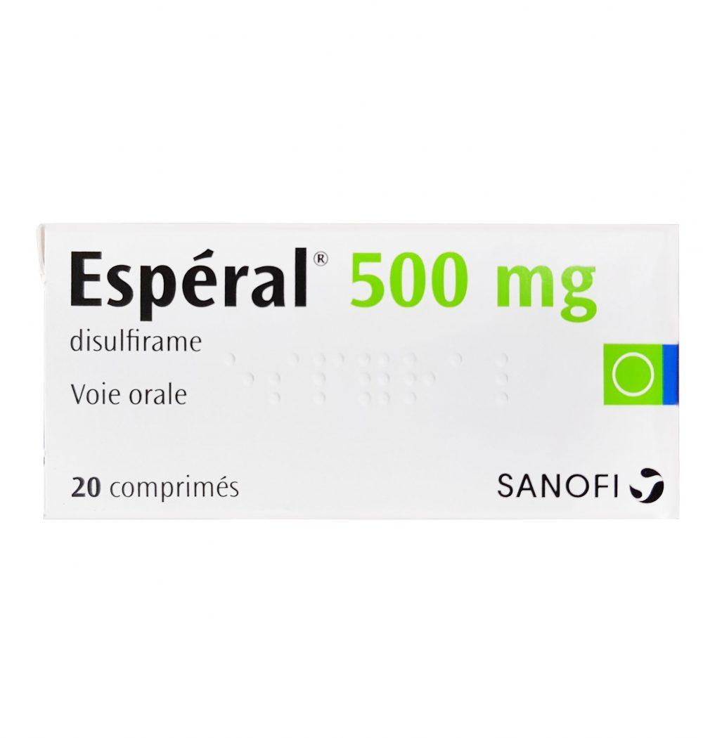 Thuốc cai rượu Esperal