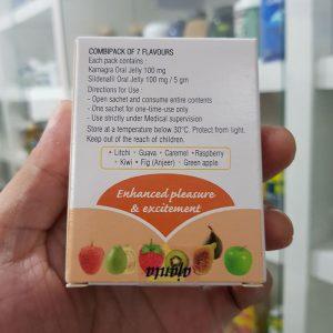 Thuốc cường dương Kamagra 100mg Oral Jelly Vol 3