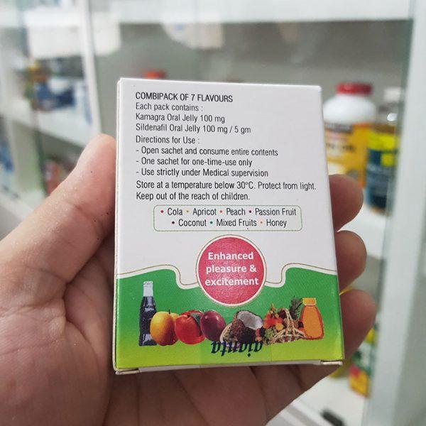 Thuốc cường dương Kamagra Oral Jelly 100mg