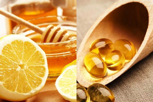 Vitamin E Mật ong