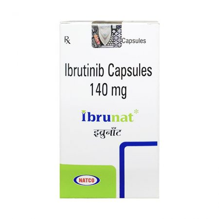 Thuốc trị ung thư Natco Ibrunat Ibrutinib 140mg