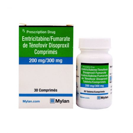 Thuốc điều trị phơi nhiễm HIV Emtricitabine Tenofovir 200mg/300mg
