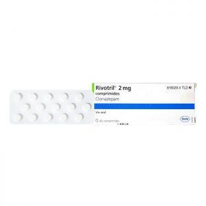 Thuốc ngủ Rivotril 2mg Clonazepam