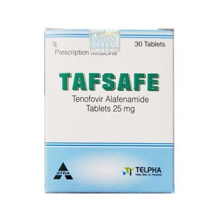 Thuốc điều trị ung thư gan Tafsafe 25mg