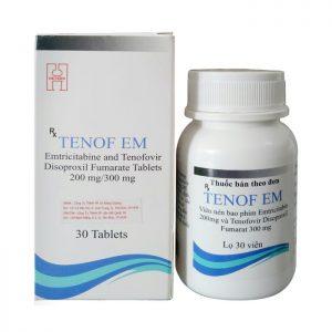 Thuốc điều trị phơi nhiễm HIV Tenof EM