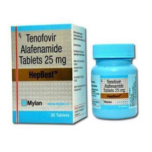 Thuốc điều trị viêm gan B Hepbest