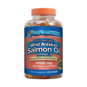 Dầu cá hồi Wild Alaskan Salmon Oil Omega 3 1000mg