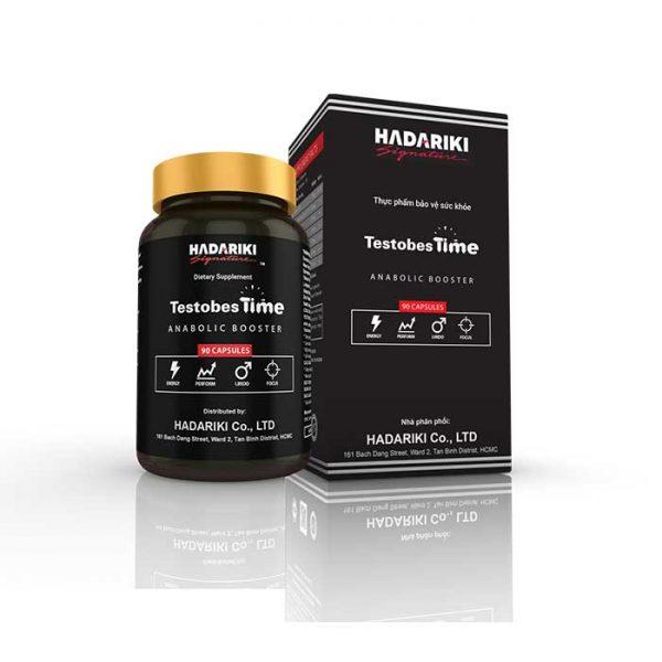 Hadariki TestobestTime thuốc tăng cường sinh lý nam, Chai 90 viên