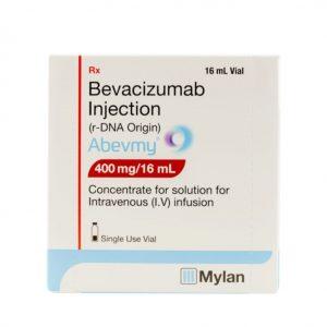 Abevmy (Bevacizumab) 400mg/16ml Thuốc trị ung thư, Hộp 1 lọ