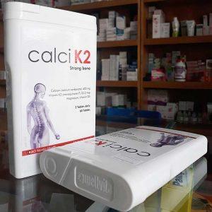 Canxi D3 K2 Strong bone Bổ xương, Hộp 60 viên