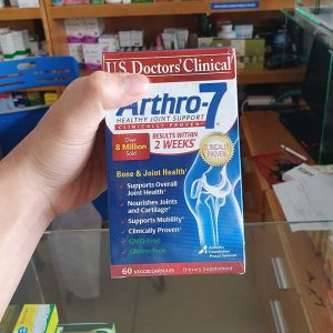 Arthro-7 Thuốc bổ xương khớp với Collagen Type II, MSM