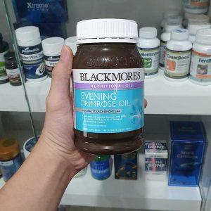 Tinh dầu hoa anh thảo Blackmores Evening Primrose Oil, Chai 190 viên