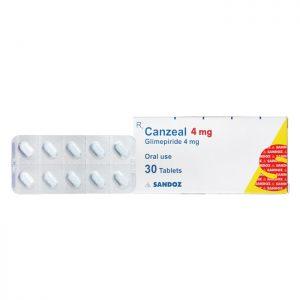 Thuốc tiểu đường Canzeal 4mg