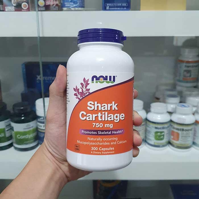Sụn cá mập Now Shark Cartilage 750 mg