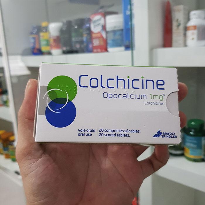 Thuốc điều trị bênh Gout Colchicine 1mg