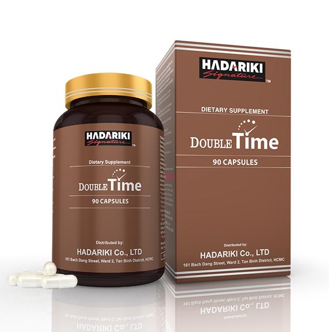 Thuốc bổ thận Double Time Hadariki tăng cường sinh lý nam