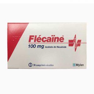 Flecaine 100mg Thuốc phòng ngừa loạn nhịp, Hộp 30 viên