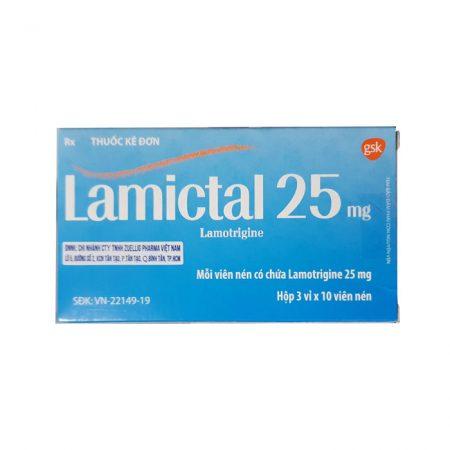 Thuốc động kinh Lamictal 25mg
