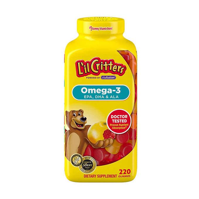 L'il Critters Kẹo dẻo Omega 3