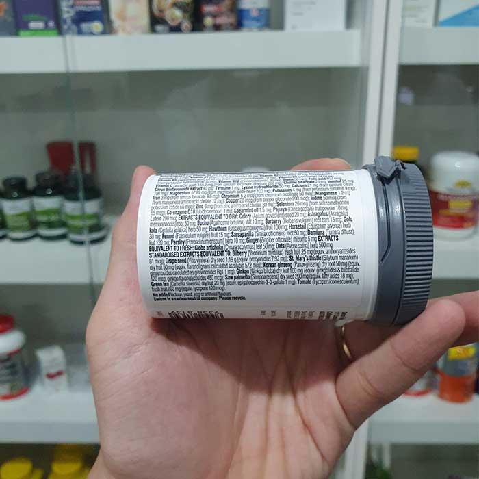 Swisse Men's Ultivite Multivitamin bổ sung vitamin cho Nam giới, Chai 60 viên