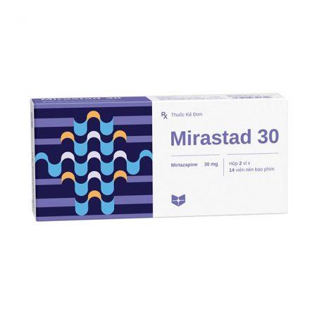 Thuốc điều trị trầm cảm Stella Mirastad 30mg