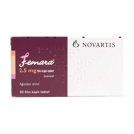Femara 2.5mg Novartis Thuốc điều trị ung thư vú, Hộp 30 viên