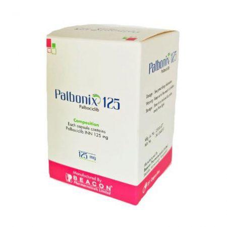 Palbonix 125 thuốc điều trị ung thư vú, Hộp 21 viên