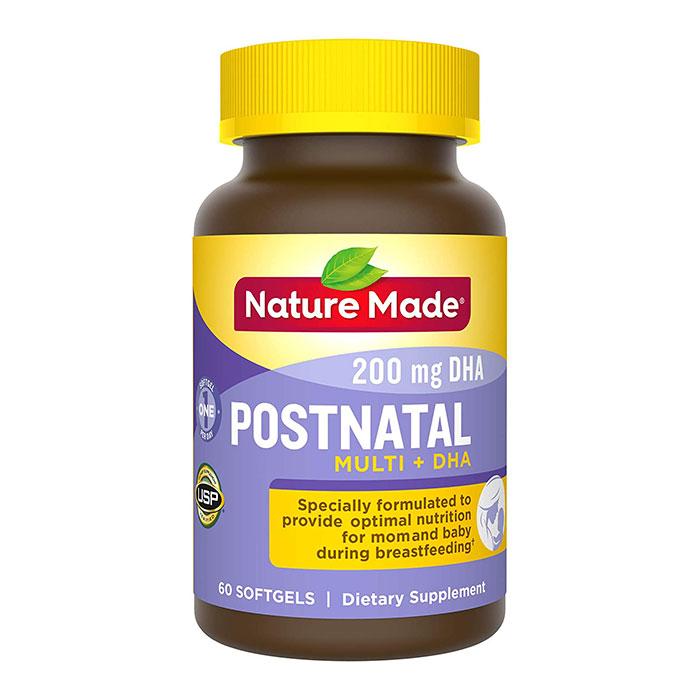 Thuốc bổ bầu sau sinh Nature Made Postnatal