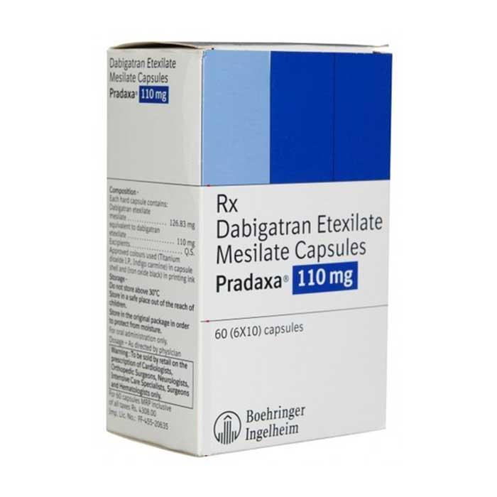 Pradaxa 110mg Thuốc chống đông máu ngừa đột quỵ, huyết khối, Hộp 60 viên