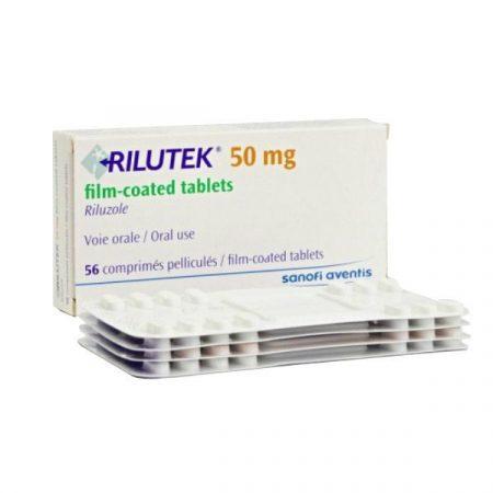 Rilutek 50mg Thuốc điều trị bệnh xơ cứng teo cơ (ALS), Hộp 56 viên