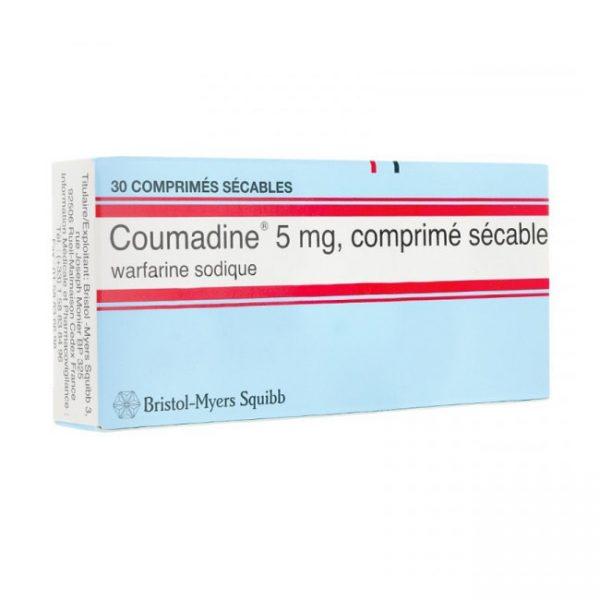 Coumadine 5mg Thuốc chống đông máu, Hộp 30 viên