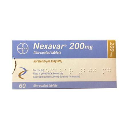 Nexava 200mg Bayer Thuốc điều trị ung thư, Hộp 60 viên