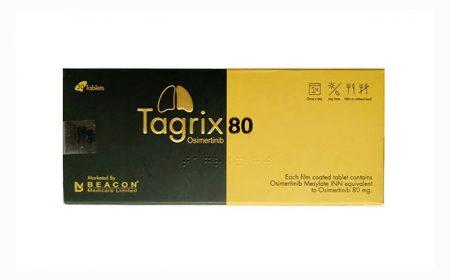 Tagrix 80 (Osimertinib) thuốc điều trị ung thư phổi, Hộp 30 viên