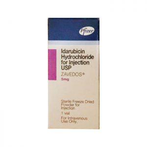 Zavedos (Idarubicin 5mg) Thuốc điều trị ung thư, Hộp 1 lọ