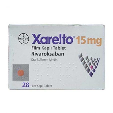 Xarelto 15mg (Rivaroxaban) Thuốc chống đông máu, Hộp 28 viên