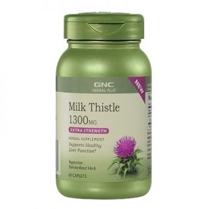 Milk Thistle 1300mg GNC
