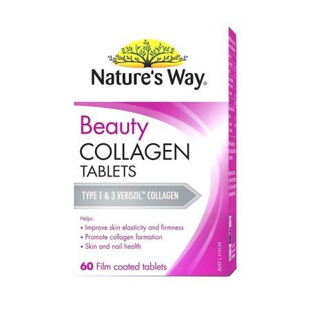 Beauty Collagen Nature's Way Úc, Chai 60 viên