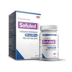 Thuốc trị viêm gan C BRV Sofuled 90mg/400mg