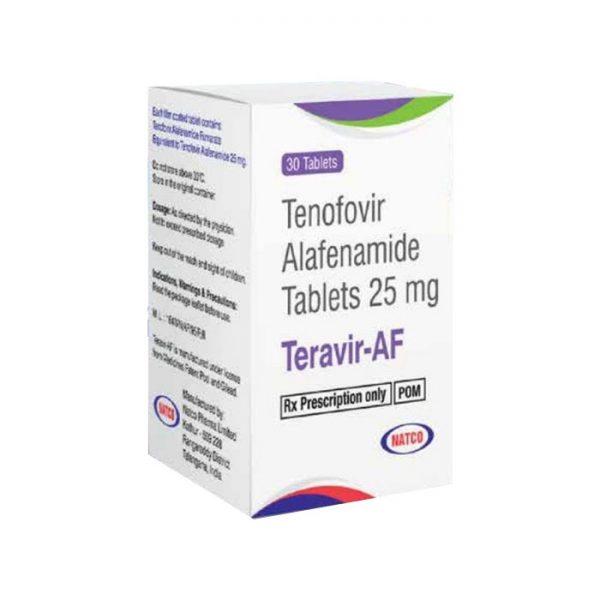 Thuốc trị viêm gan B Teravir AF 25mg