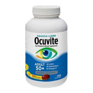 Viên Uống Bổ Mắt Ocuvite Adult 50+