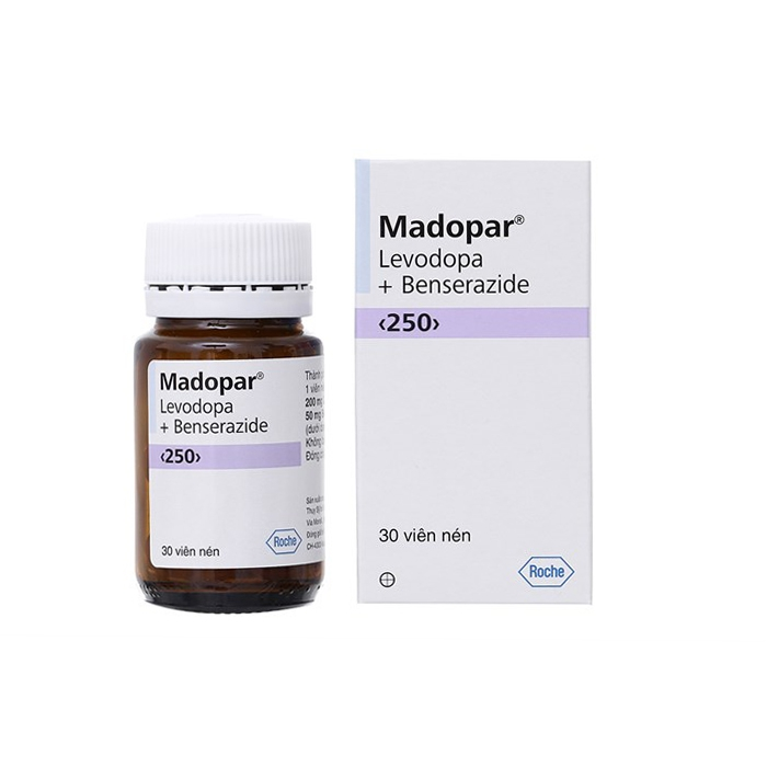 Thuốc Madopar 200mg/50mg