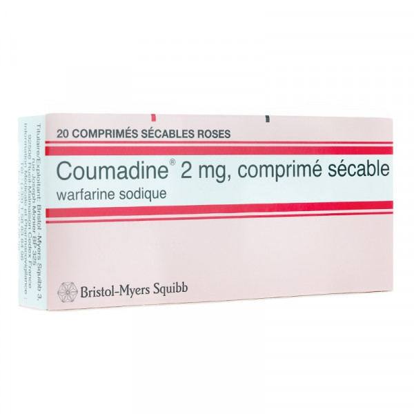 Thuốc Coumadine 2 mg