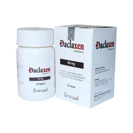 Thuốc điều trị viêm gan C Daclaxen 60mg