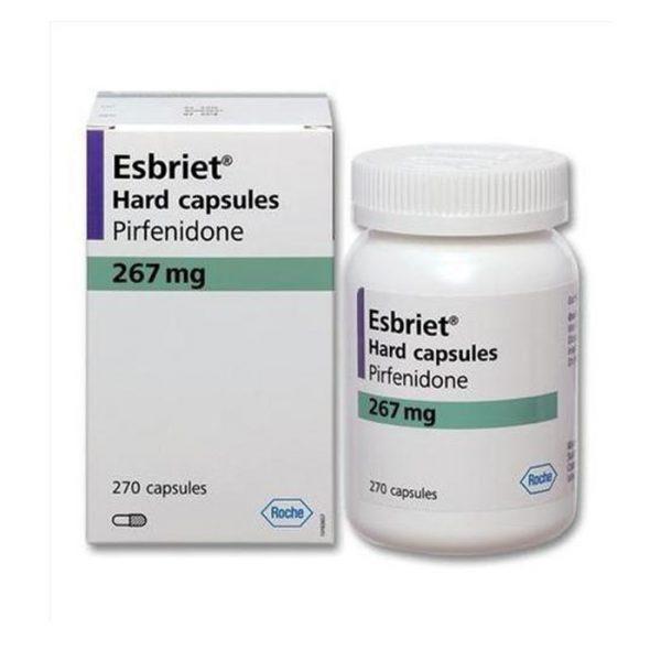 Thuốc điều trị xơ phổi Roche Esbriet 267mg