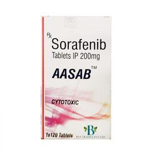 Thuốc trị ung thư AASB Sorafenib 200mg