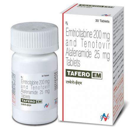 Thuốc Tafero EM 200mg/25mg