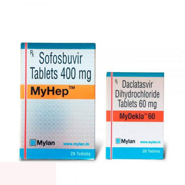 Thuốc Mylan Mydekla 60mg - Thuốc Mylan MyHep 400mg